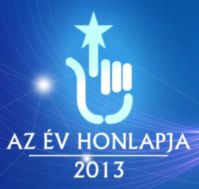 Az év honlapja 2013